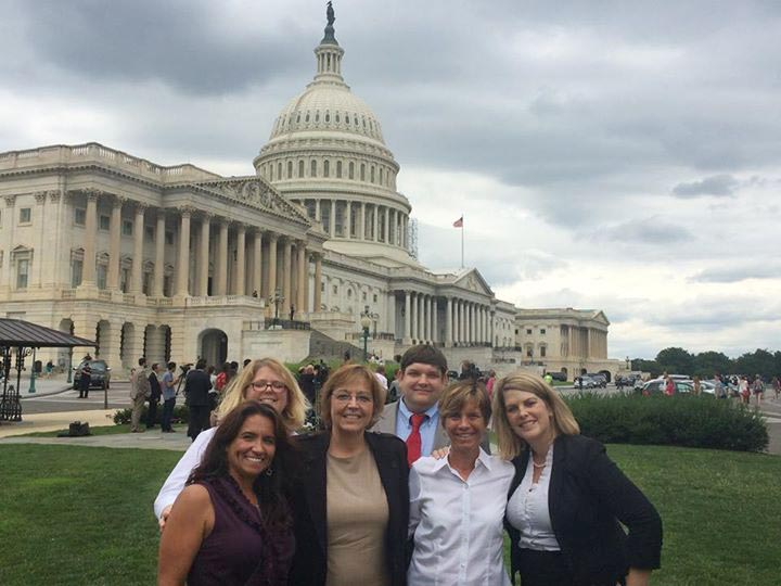 Faculty and students from the Special Education program visit Washington, D.C.