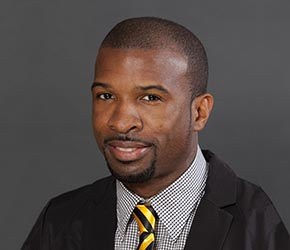 Headshot of Dr. LaRon Scott, associate professor, Department of Counseling and Special Education.